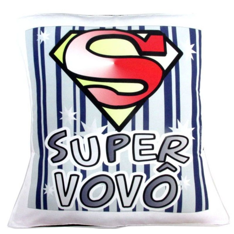 Almofada Quadrada Personalizada Super Vovô