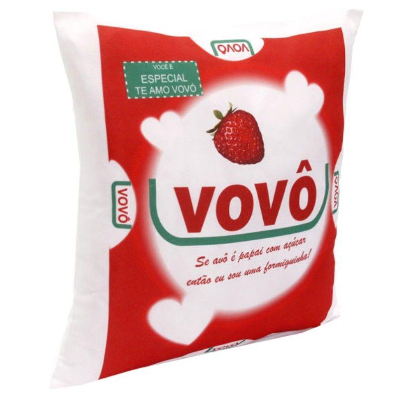 Almofada Quadrada Personalizada Vovô Açúcar
