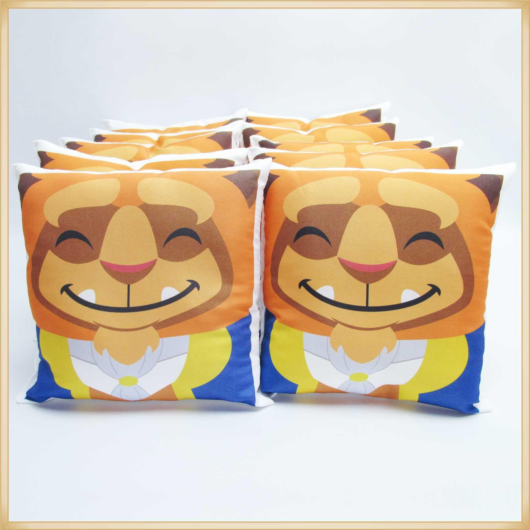 Almofadas Cute Baby Personalizadas Lembrancinhas para festa de Aniversário infantil Brinde para crianças - Kit com 15 unidades.