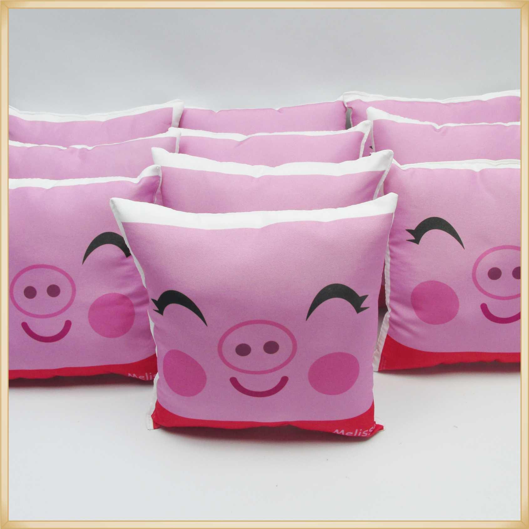 Almofadas Cute Baby Personalizadas Lembrancinhas para festa de Aniversário infantil Brinde para crianças - Kit com 10 unidades.