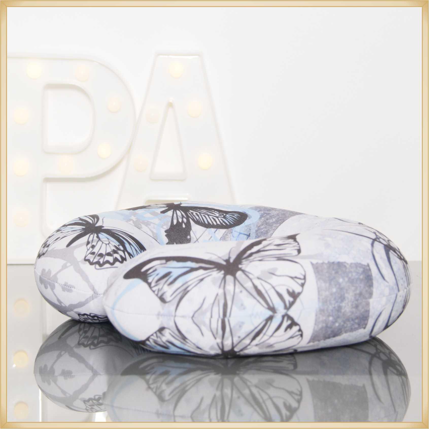 Almofadas de Pescoço Travesseiro para Viagem Borboletas For