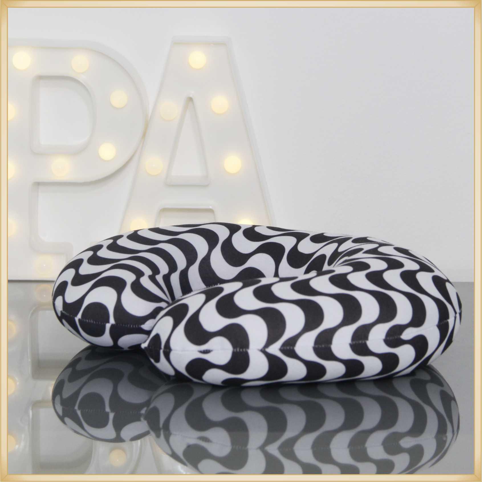 Almofadas de Pescoço Travesseiro para Viagem Calçadão Ipanema