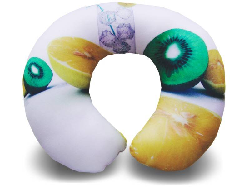 Almofadas de Pescoço Travesseiro para Viagem Citrus