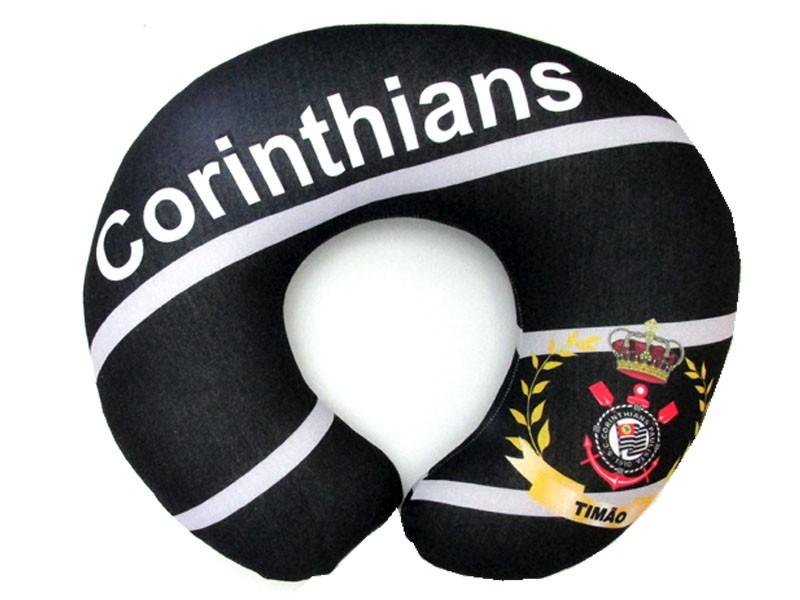 Almofadas de Pescoço Travesseiro para Viagem Corinthians