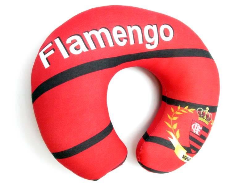 Almofadas de Pescoço Travesseiro para Viagem do Flamengo