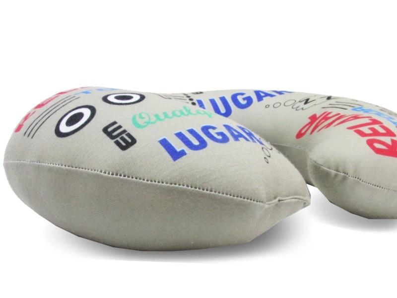 Almofadas de Pescoço Travesseiro para Viagem Hora de Relaxar