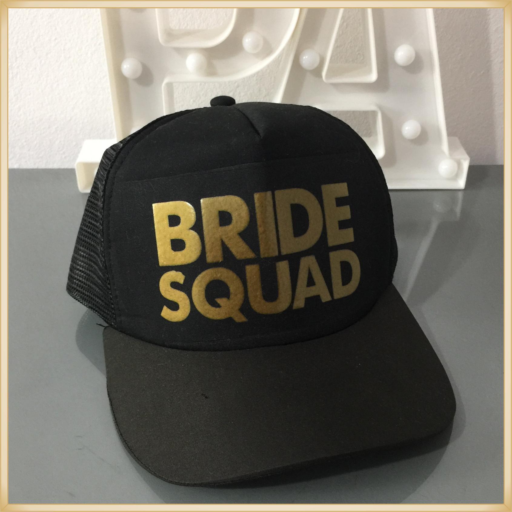 Boné Despedida de solteira Bride Squad