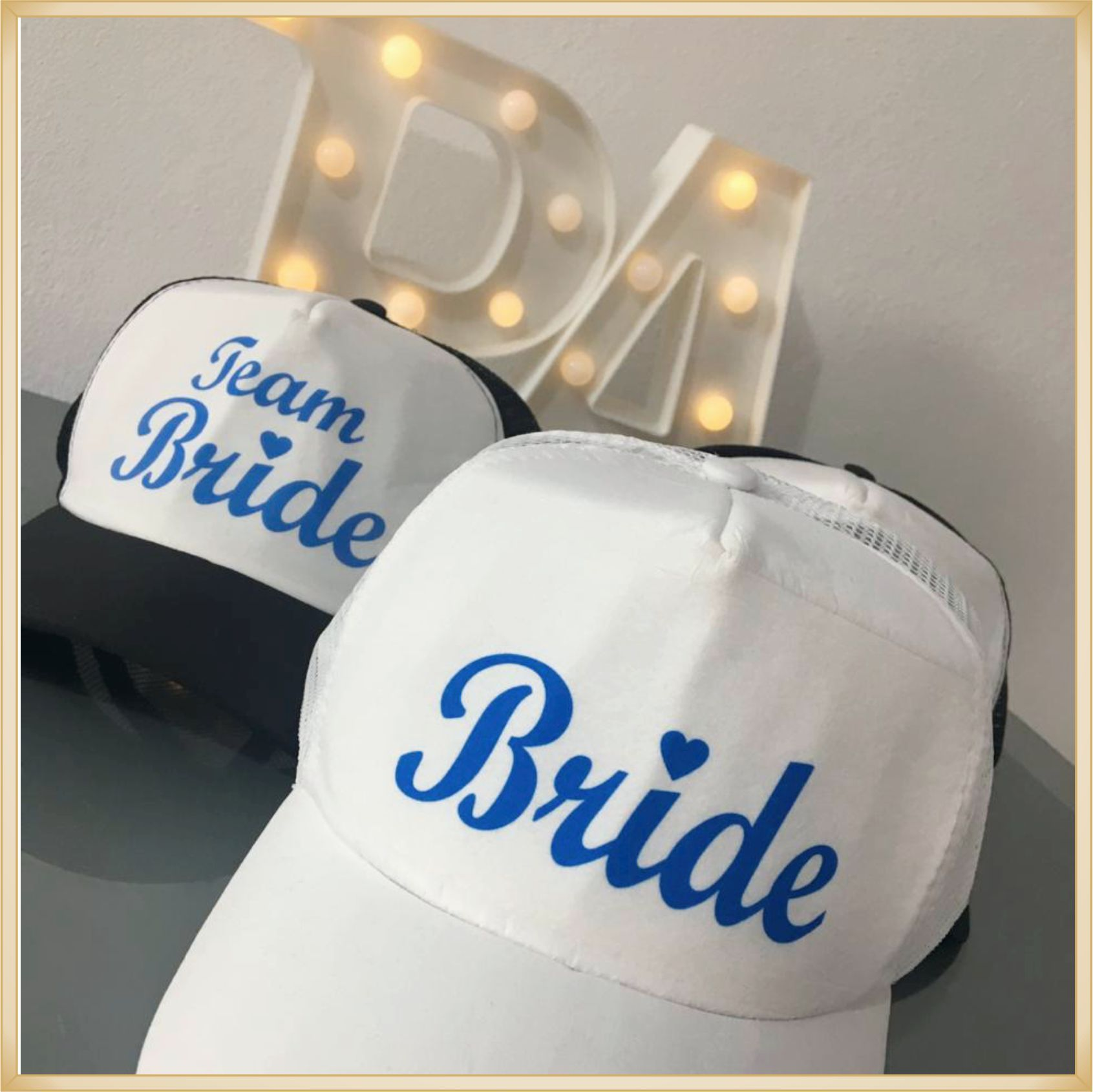 Boné Personalizado de Casamento