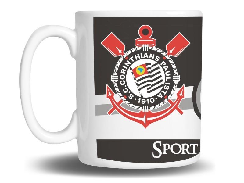 Caneca de Porcelana Personalizada do Corinthians