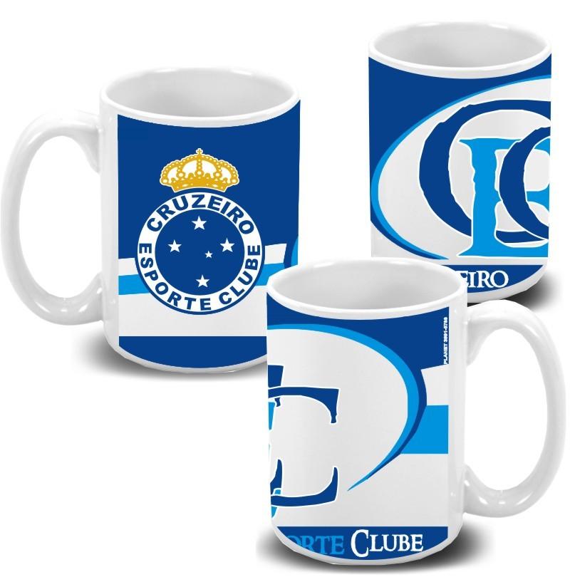 Caneca de Porcelana Personalizada do Cruzeiro - Planet Arte ... 5e47fd5f43790