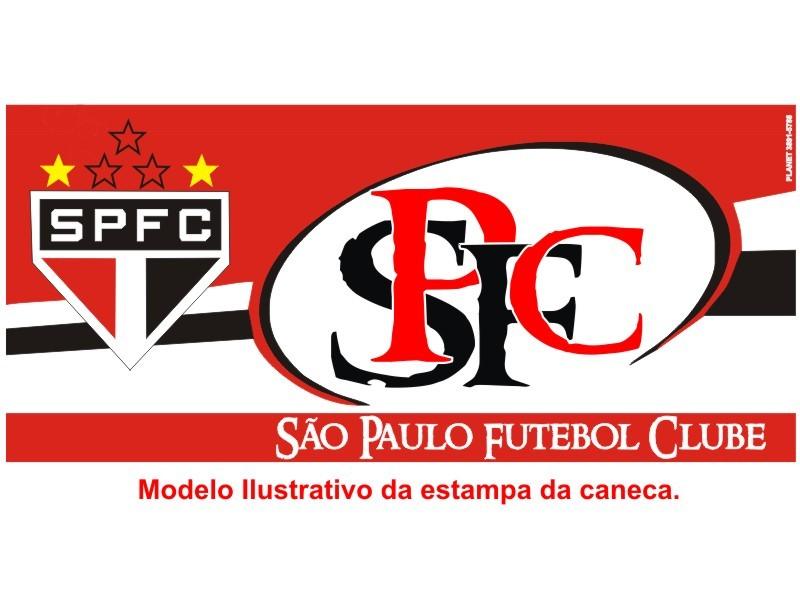 Caneca de Porcelana Personalizada do São Paulo