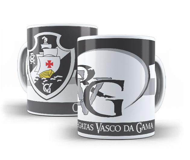 Caneca de Porcelana Personalizada do Vasco da Gama