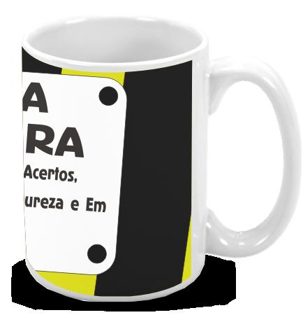 Caneca de Porcelana Personalizada Pai pra toda Obra