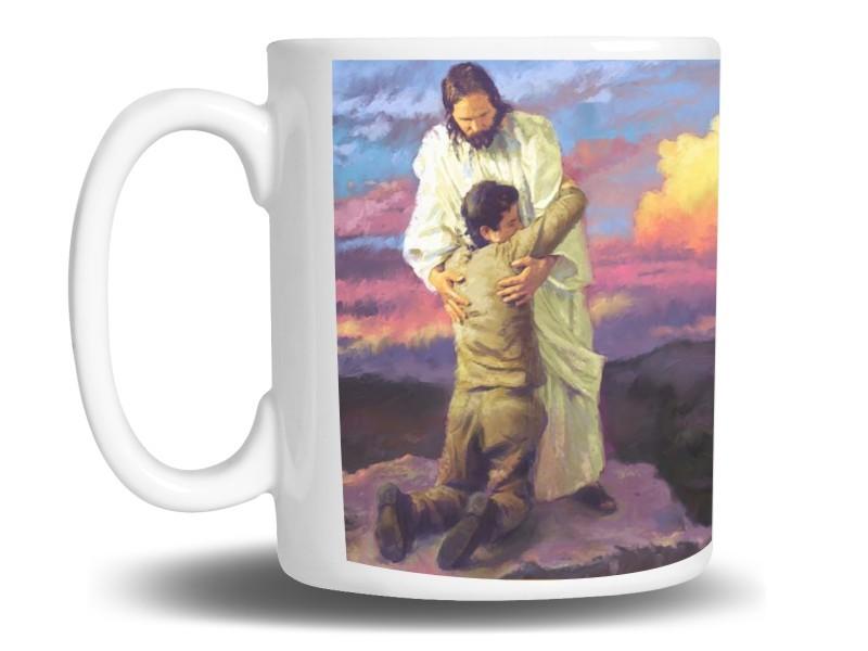 Caneca de Porcelana Personalizada Religiosa Jesus Cristo