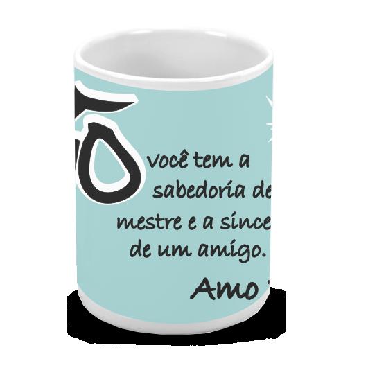 Caneca de Porcelana Personalizada Vovô Amo Você