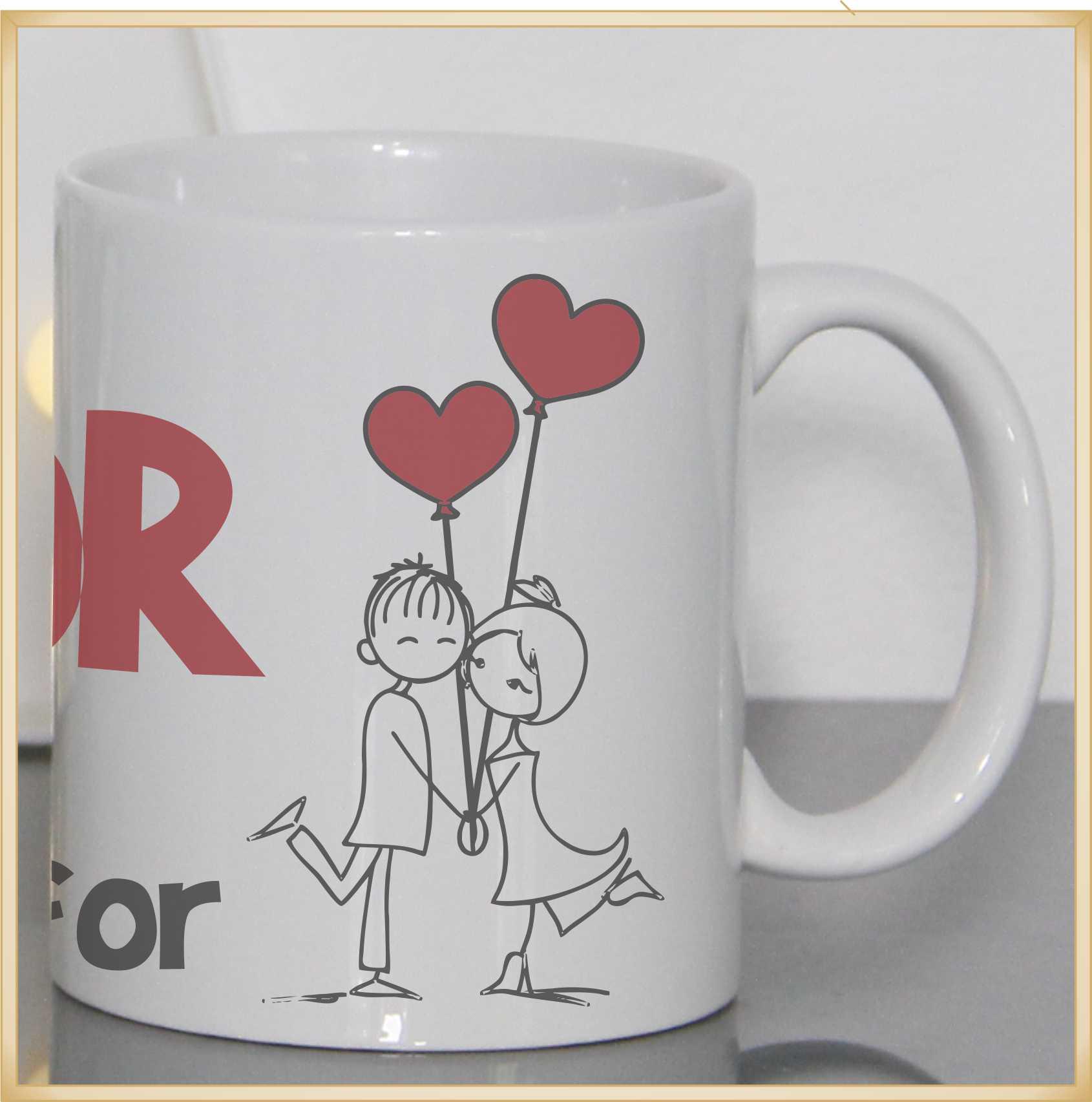 Caneca personalizada para Namorados Viva o Amor