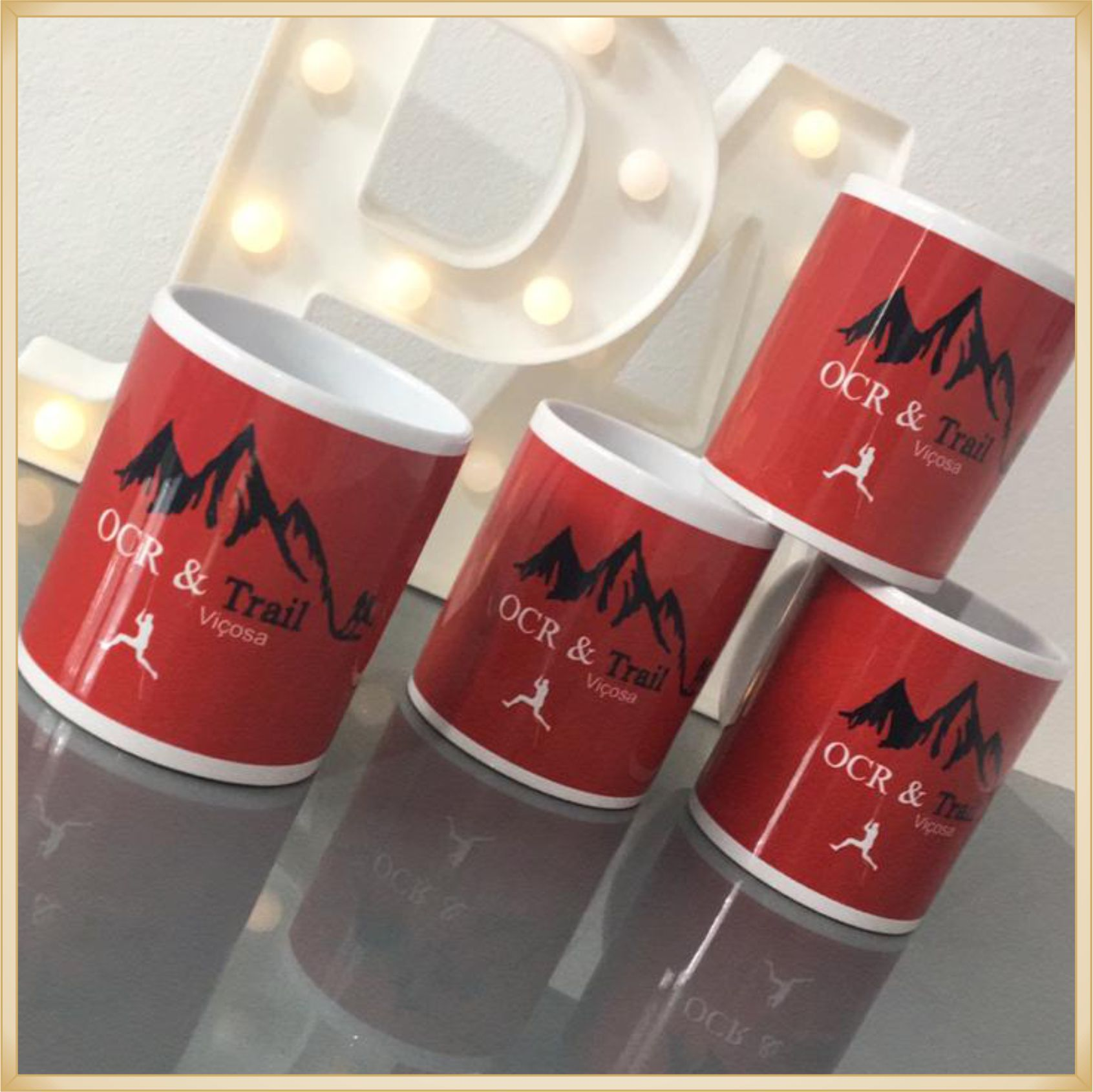 Canecas de porcelana personalizadas - estampa de alta qualidade, cores vivas, acabamento perfeito, alças confortáveis, 325 ml. - kit com 25 unidades