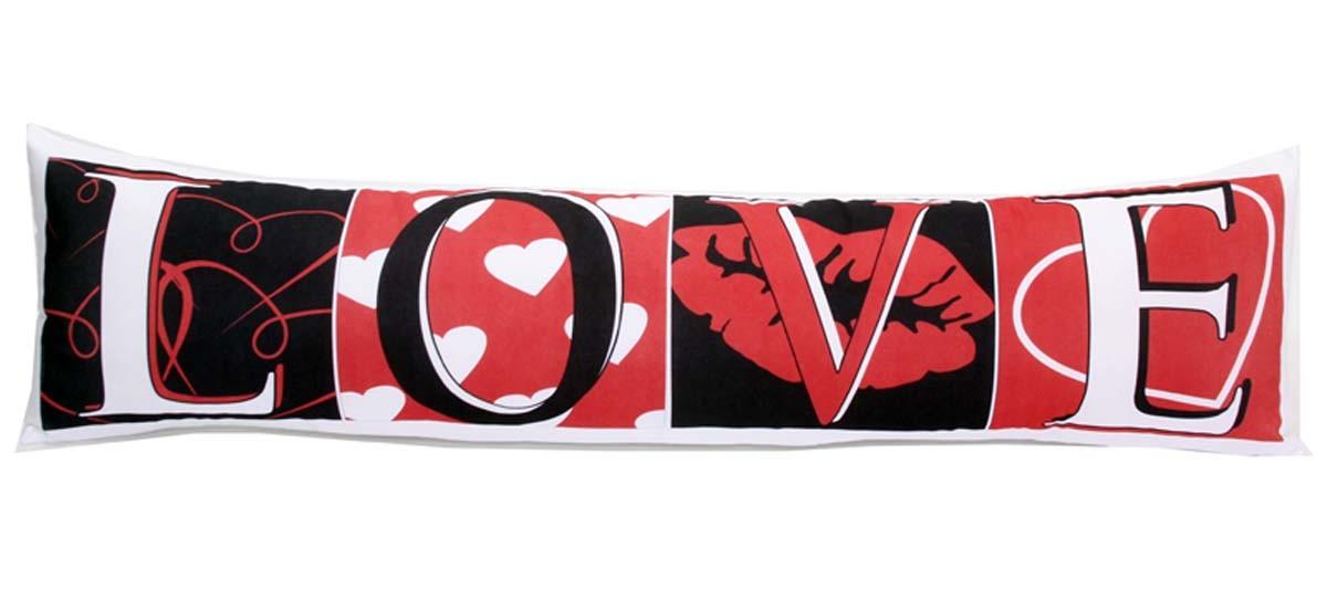 Almofada de Metro Personalizada Namorados Love Kisses