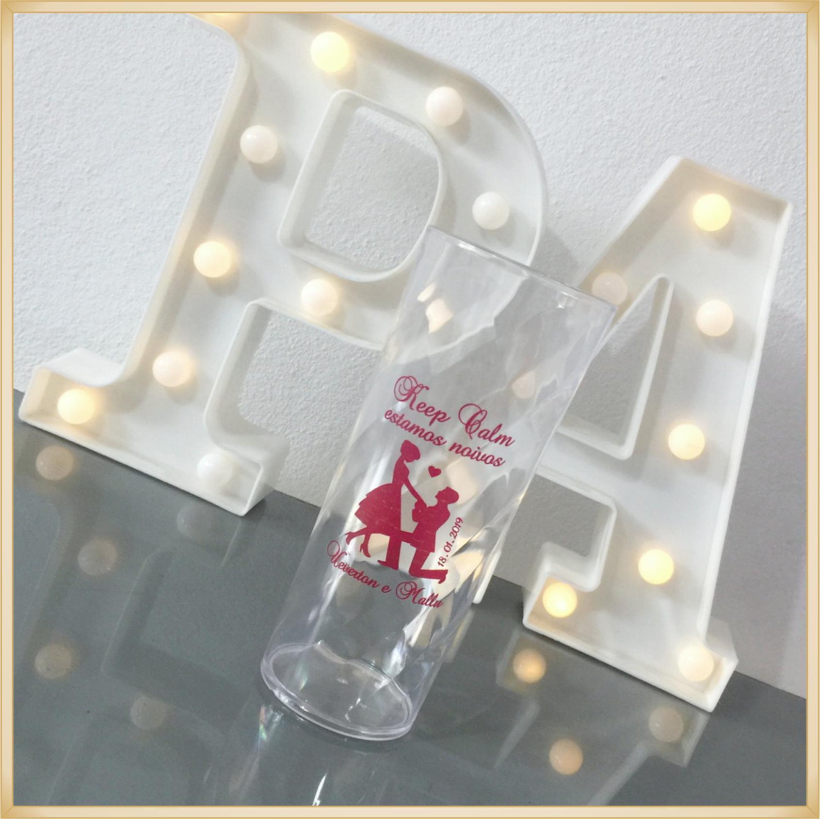 Copos long Drink Personalizados Despedida Solteiro - estampas qualidade, brilhante, ótimo acabamento, parede de 2,5mm, resistente, 325ml. kit 50 unid.