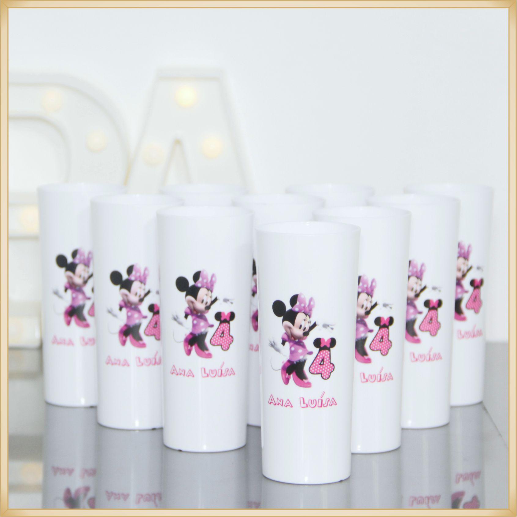 Copos long Drink Personalizados - estampas de qualidade, brilhante, ótimo acabamento, parede de 2,5 mm, resistente, 325 ml. - kit 20 unidades