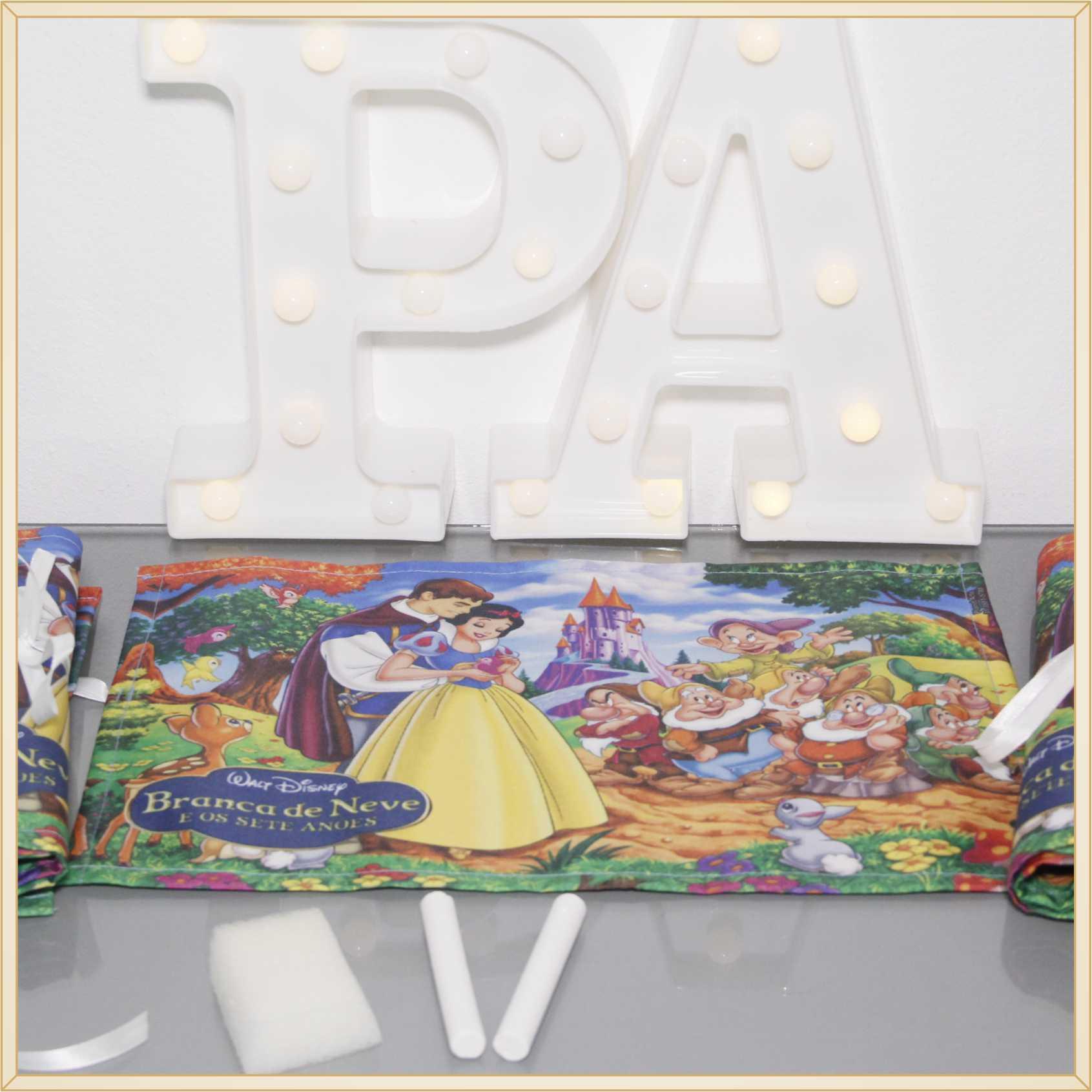 Lousa Portátil Personalizadas Lembrancinhas de Aniversário infantil Brindes para crianças - Kit com 15 unidades