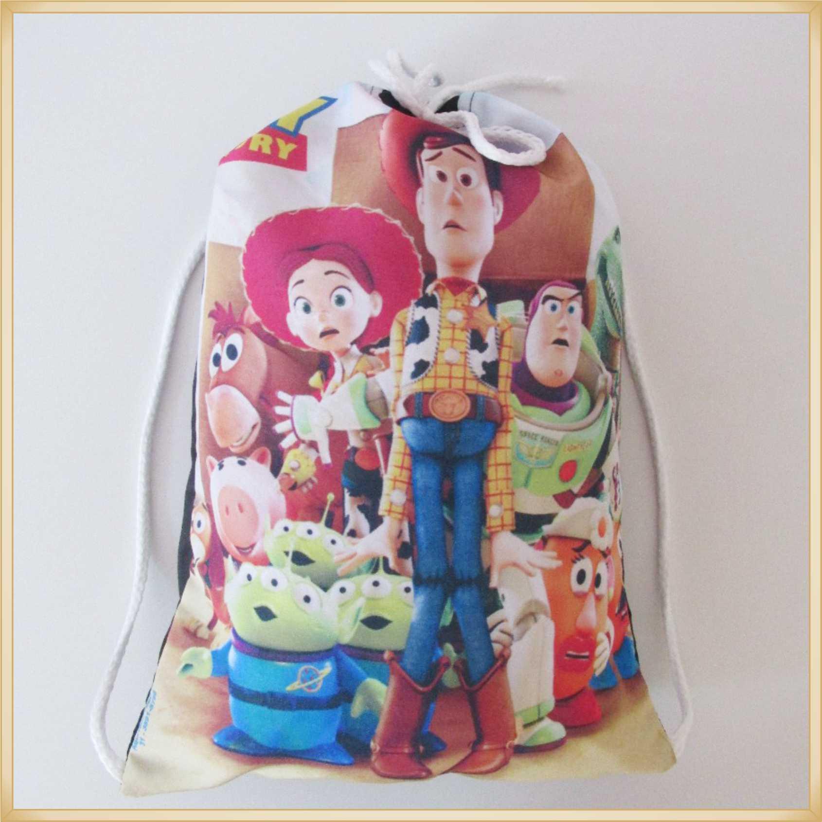 Mochilinhas Personalizadas para Lembrancinhas de Aniversário Infantil Brindes para crianças - Kit com 15 unidades