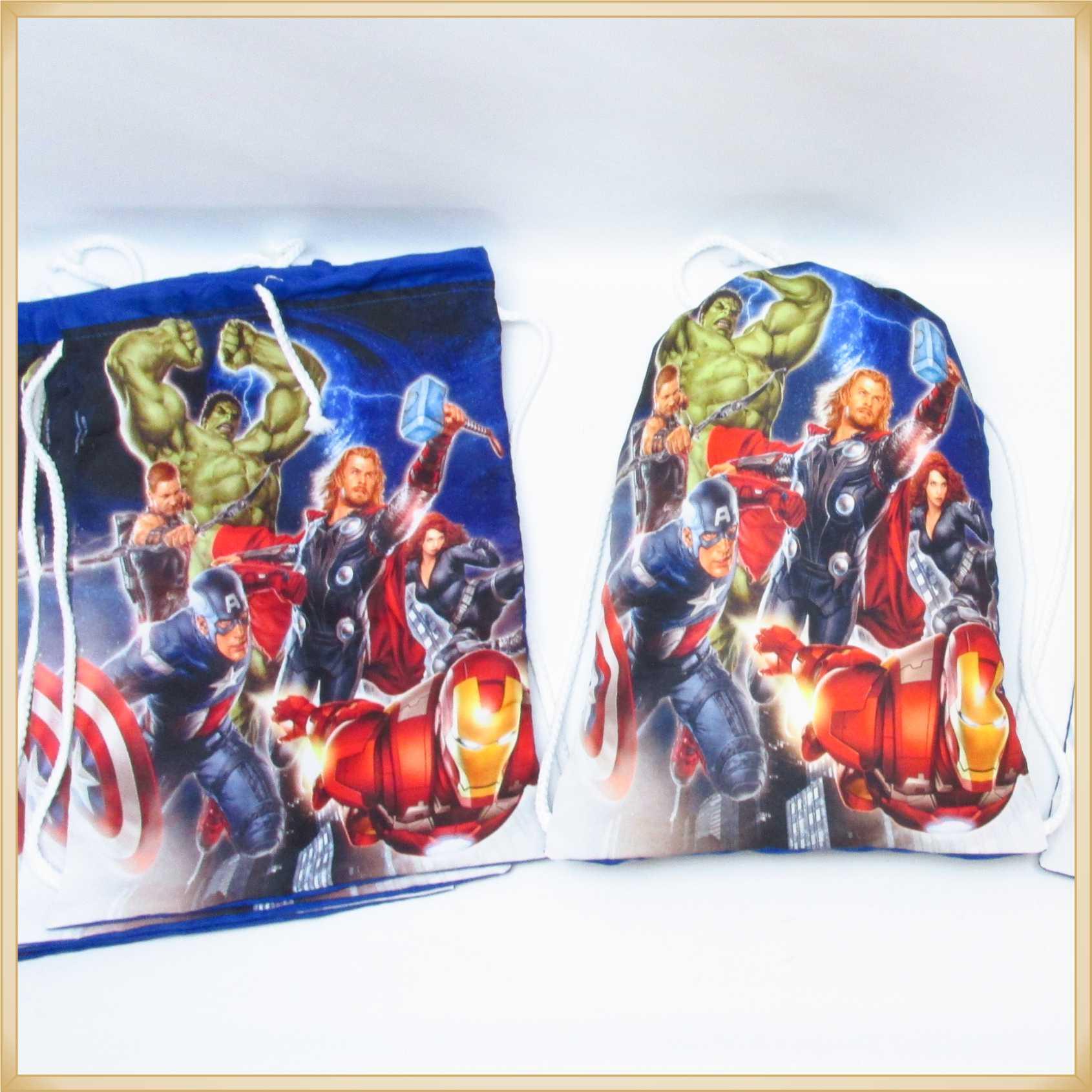 Mochilinhas Personalizadas para Lembrancinhas de Aniversário Infantil Brindes para crianças - Kit com 10 unidades