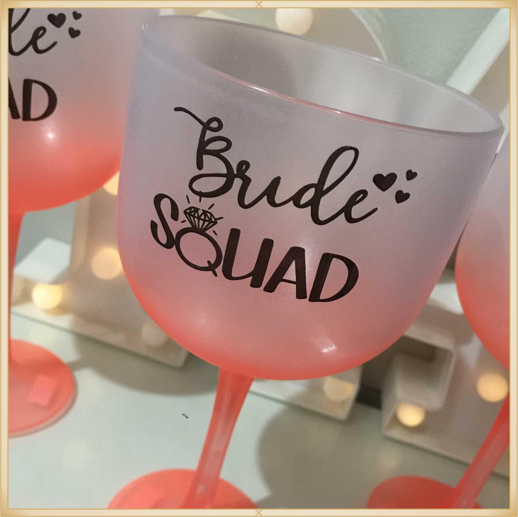 Taça de gin Degradê personalizada Casamento - produto de alta qualidade, brilhante, ótimo acabamento, parede 2,5 mm, material atóxico, 580 ml. 20 unid