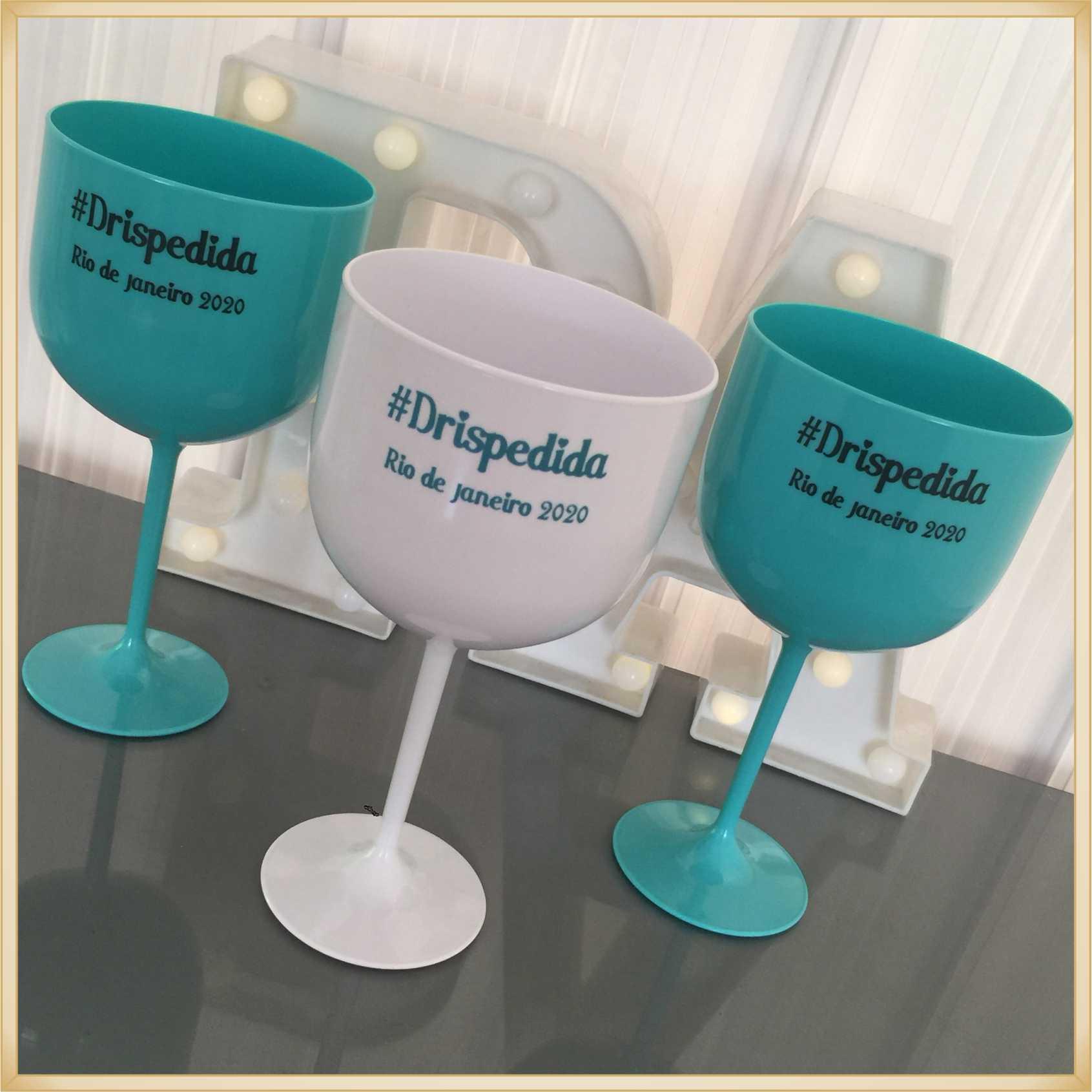Taça de gin personalizada Casamento - produto de alta qualidade, brilhante, ótimo acabamento, parede 2,5 mm, material atóxico, 580 ml. kit 20 unidades
