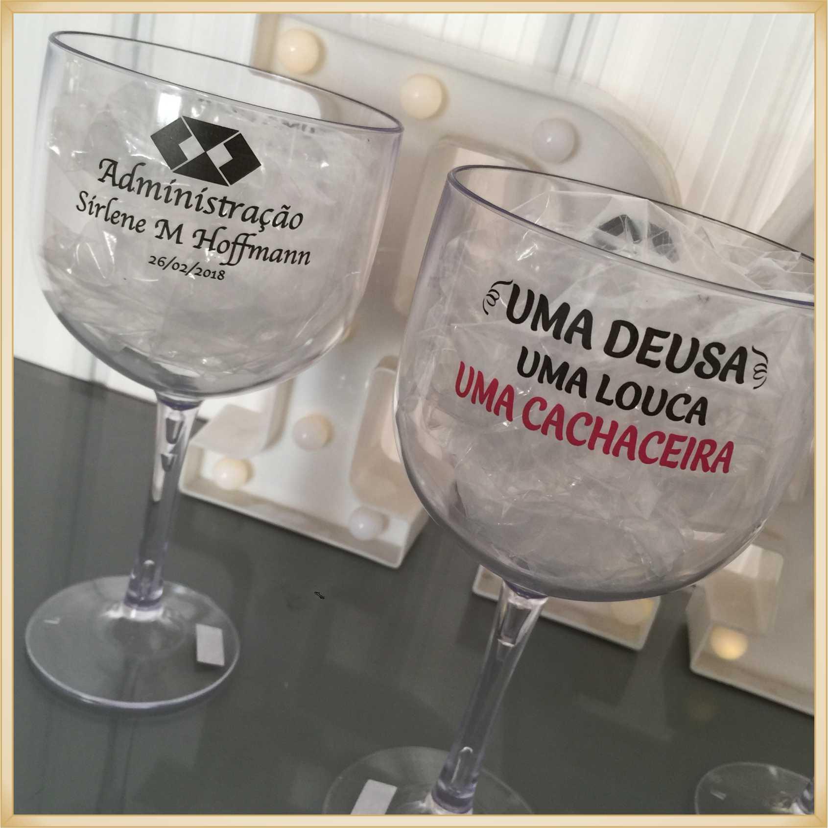 Taça de gin personalizada Formatura - alta qualidade, brilhante, ótimo acabamento, parede de 2,5 mm, material atóxico, 580 ml