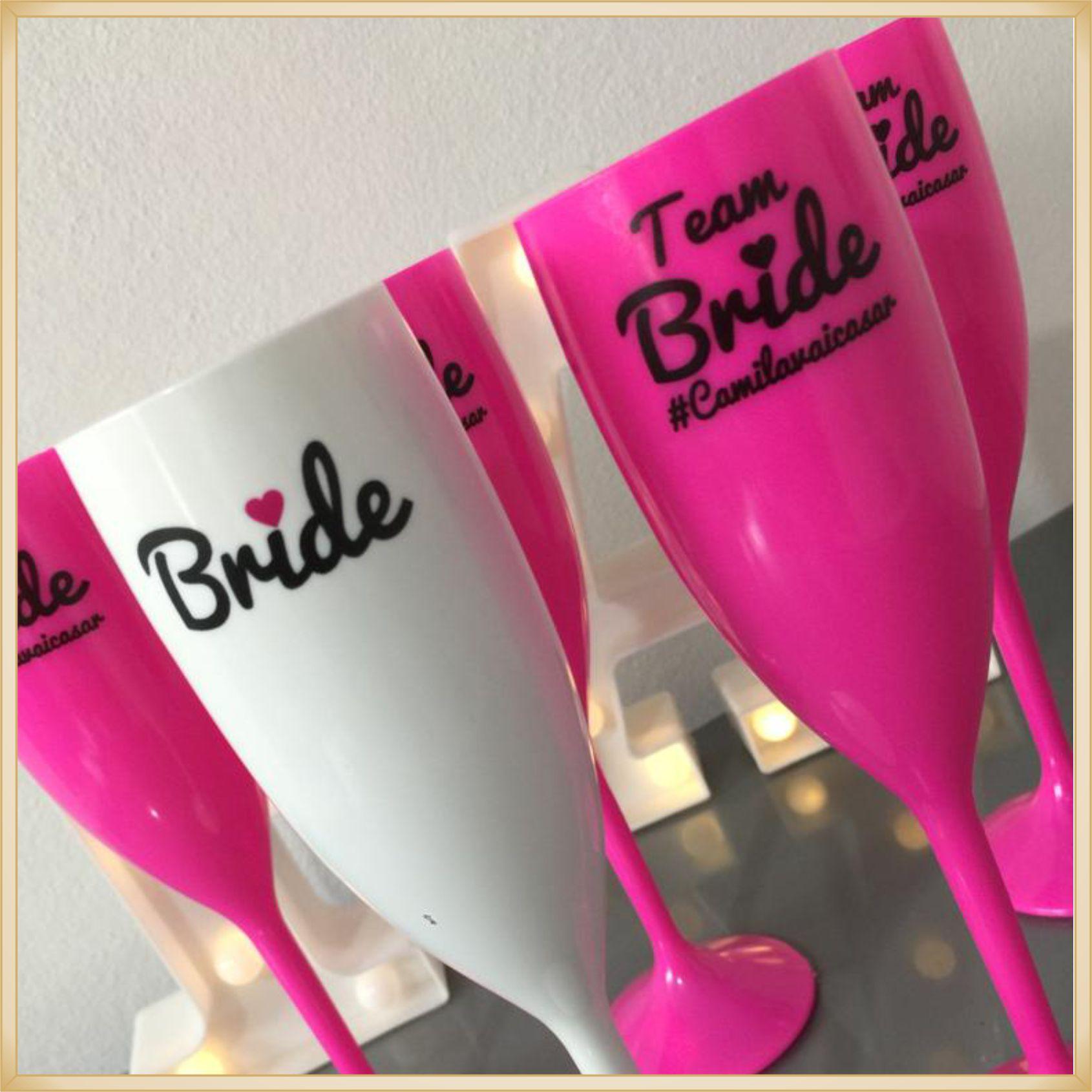 Taças de acrílico Personalizadas Casamento - acrílico de qualidade, brilhante, ótimo acabamento, parede de 2,0mm, produto Atóxico, 190ml. kit 30 unid.