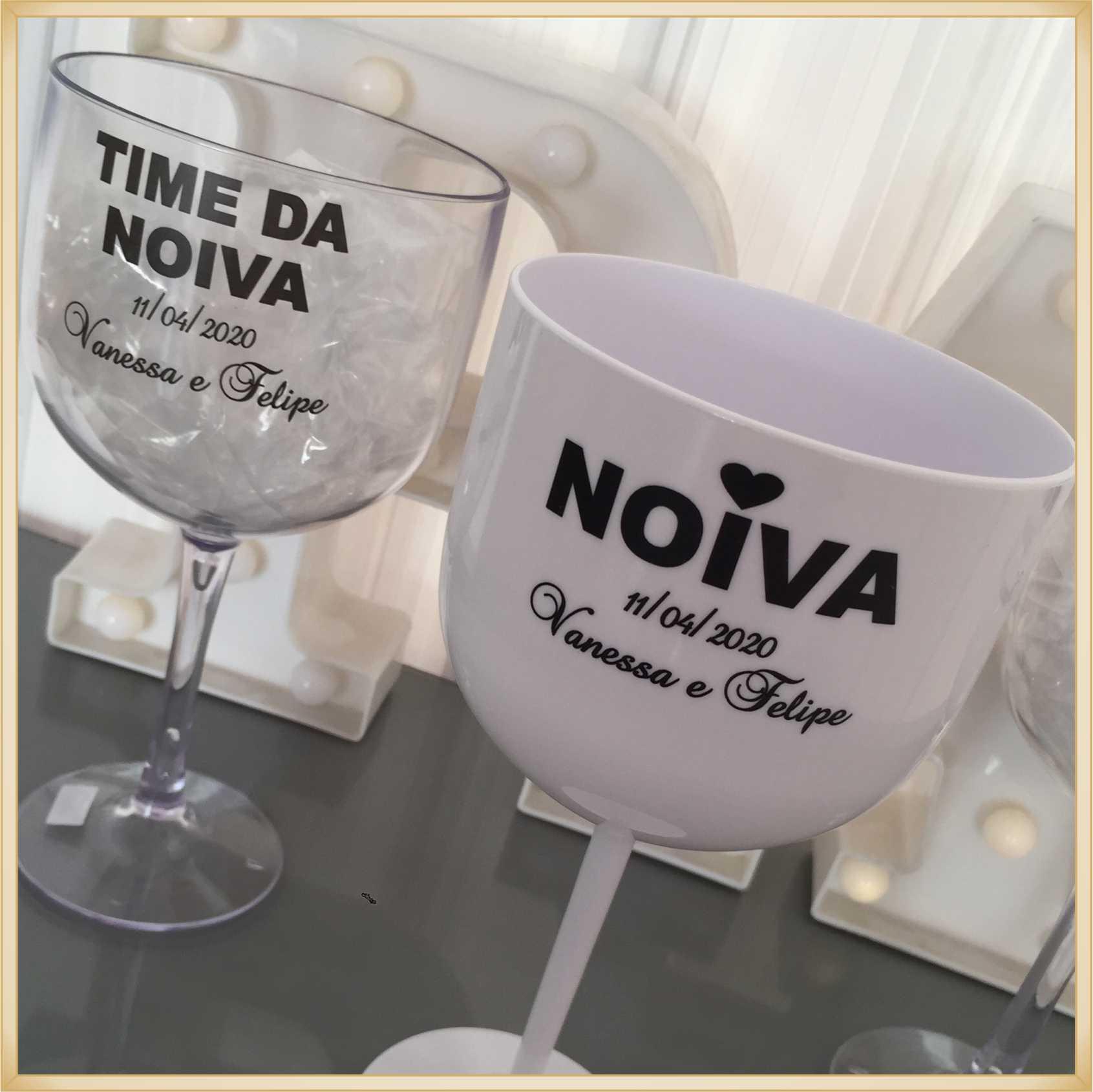 Taças de gin personalizadas - alta qualidade, brilhante, ótimo acabamento, parede de 2,5mm, material atóxico, 580 ml - kit 30 unidades