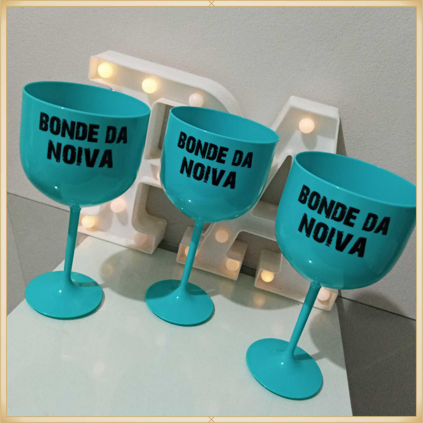 Taças de gin personalizadas Casamento - produto de alta qualidade, brilhante, ótimo acabamento, parede 2,5 mm, material atóxico, 580 ml. kit 20 unidades