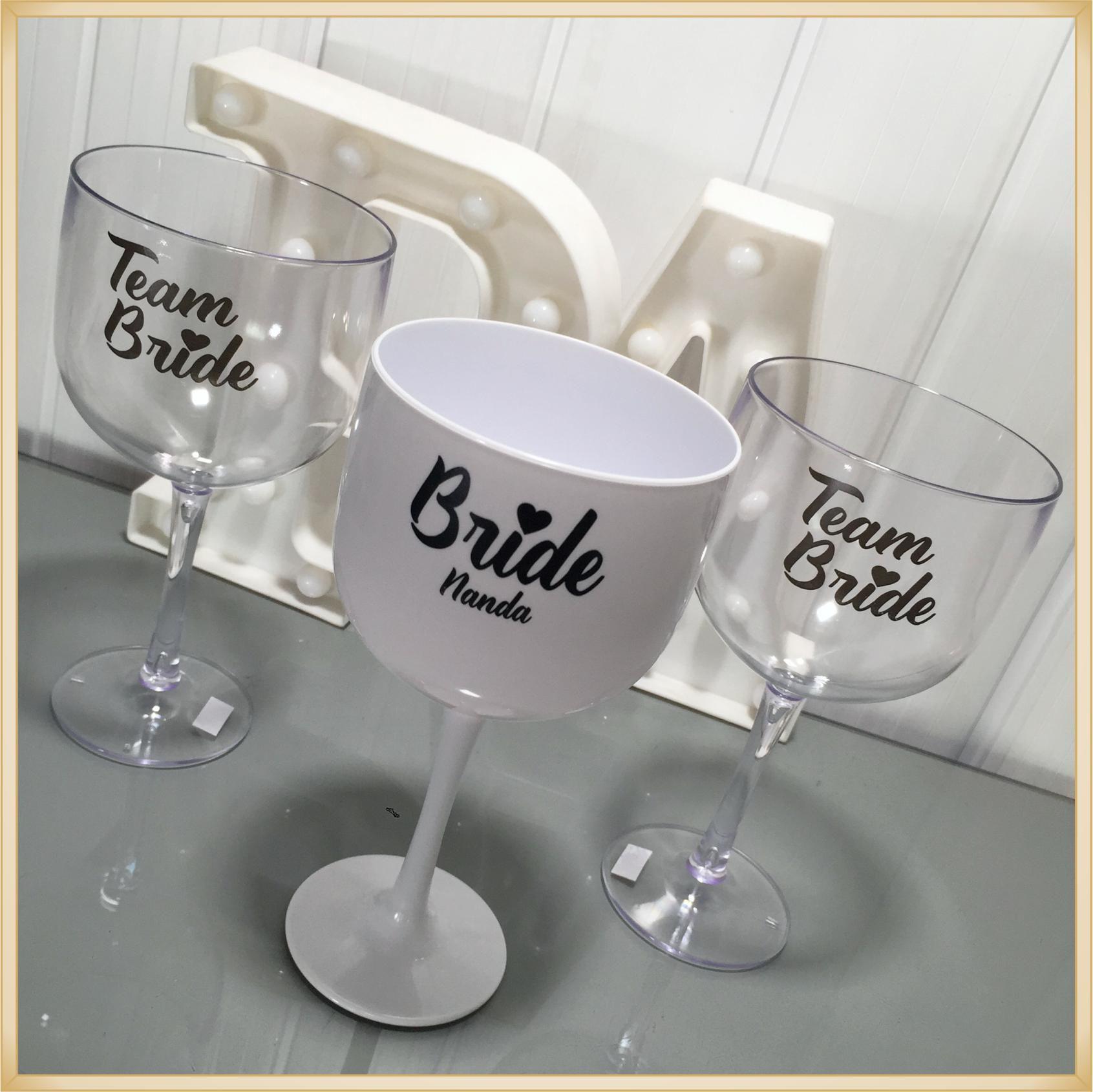 Taças de gin personalizadas - kit com 17 unidades