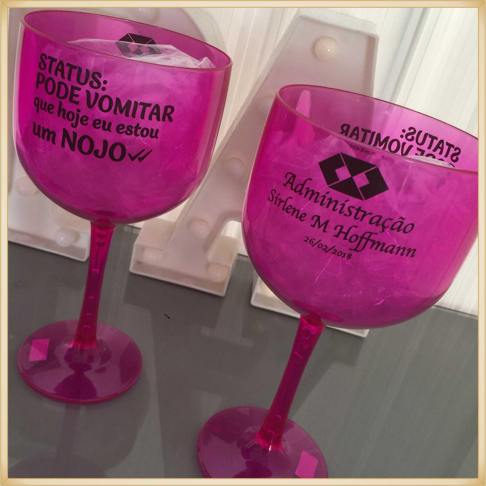 Taças de gin personalizadas - kit com 30 unidades