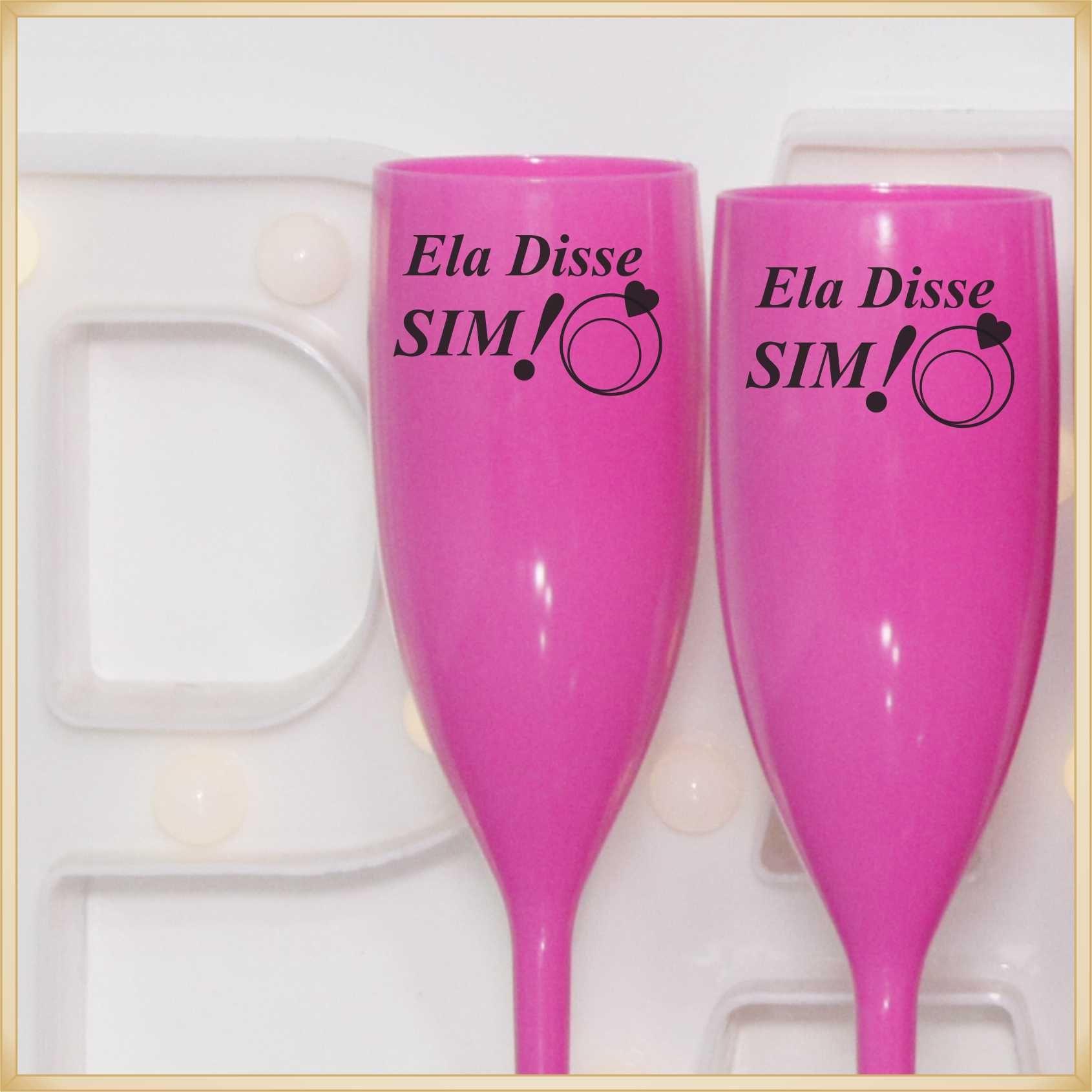 Taças para Casamento Lembrancinhas para madrinhas  - Kit com 10 unidades