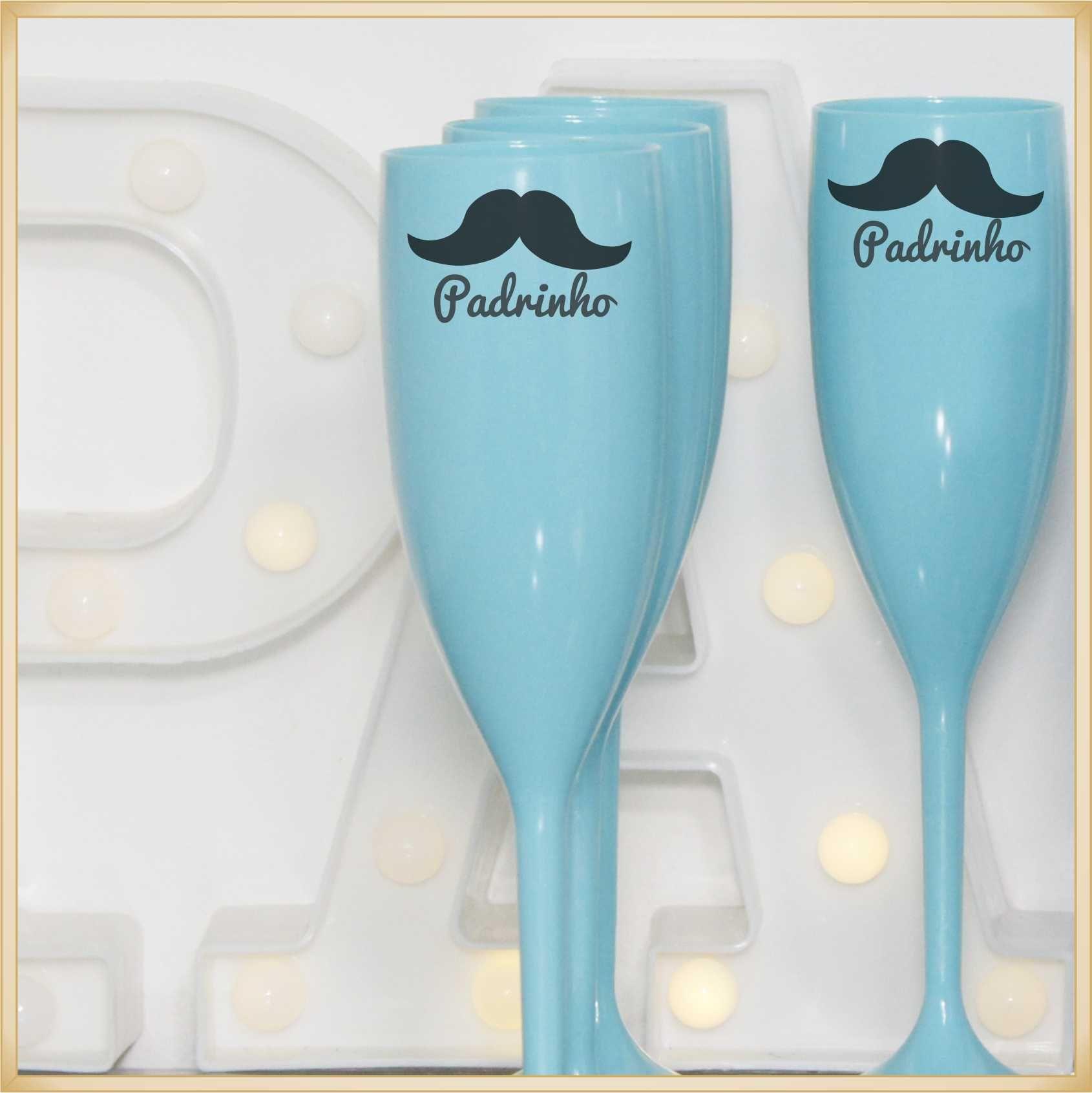 Taças para Casamento Lembrancinhas para Padrinhos e noivo - Kit com 11 unidades