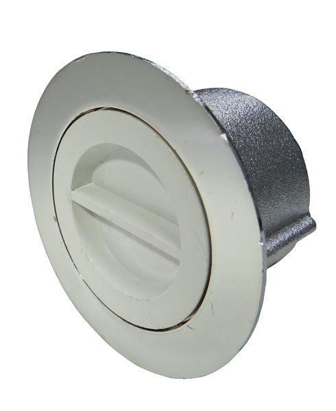 Dispositivo de Aspiração latão cromado 1 1/2´´ para Piscinas de Alvenaria