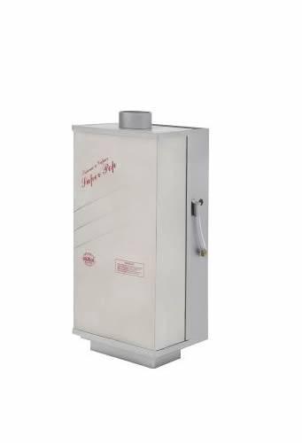 Sauna a Vapor a Gás Super Pop para 18m³ GLP controle de temperatura Analógico - Socalor