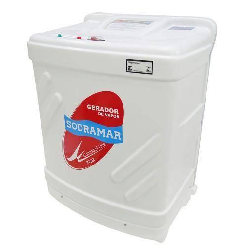 Sauna SODRAMAR Compact Line Inox 6 kw p/ até 6m³