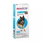 Antipulgas e Carrapatos MSD Bravecto para Cães de 20 a 40 kg - 1000 mg