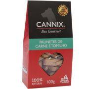CANNIX GOURMET BOX PALINETES DE CARNE E TOMILHO 100g PETS DU MONDE