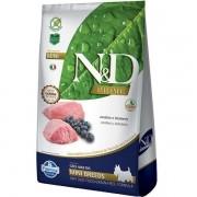 Ração Farmina ND Prime Adulto Cordeiro e Blueberry Raças Pequenas 10,1Kg N&D