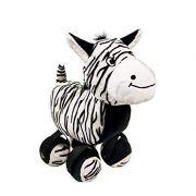 Zebra com Tenis Pelúcia Kong Tennishoes Grande
