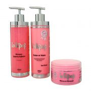Kit Progressiva Redutor de Volume Lollipop 500ml