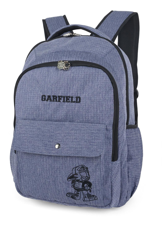 brillante en brillo Boutique en ligne sitio de buena reputación Mochila Escolar Feminina Notebook Resistente Costas Garfield Luxcel 11979