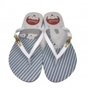 CHINELO COCA COLA ARTIC BEAR BRANCO CC3126