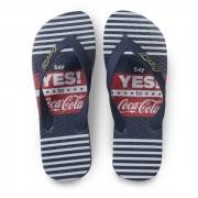 Chinelo Coca Cola say yes CC3037 Masculino Marinho