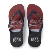 CHINELO COCA COLA WAVE MARINHO CC3027