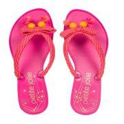 Chinelo Infantil Lucky Petite Jolie Rosa PJ4399IN